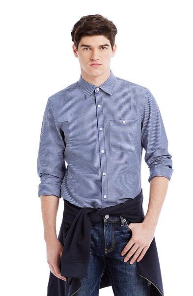 Denim Stripe Shirt