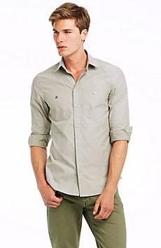 Jacquard Camo Shirt