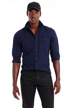Cord Collar Shirt