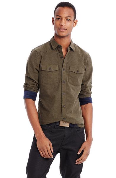 Twill Flannel Shirt
