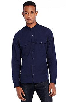 Moto Collar Shirt