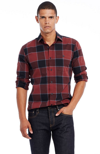 Bold Plaid Shirt