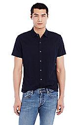 Mesh Cotton Shirt