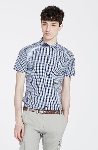 Gingham Print Shirt
