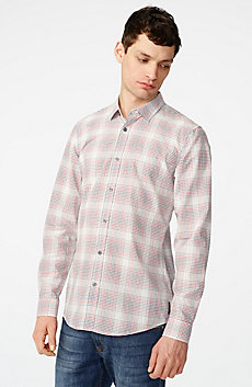 Muted Plaid Shirt