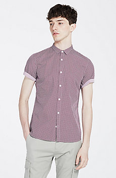 Micro Printed Shirt