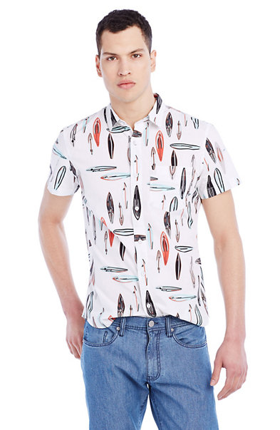 Short-Sleeve Surfboard Shirt