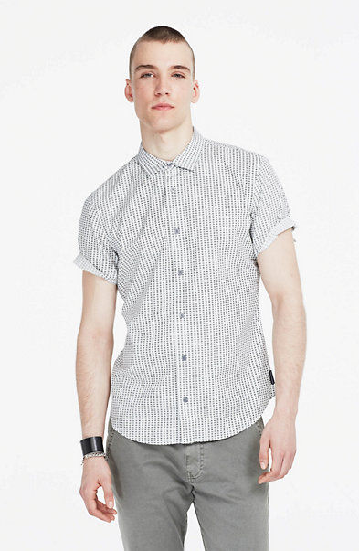 Grid Checked Shirt