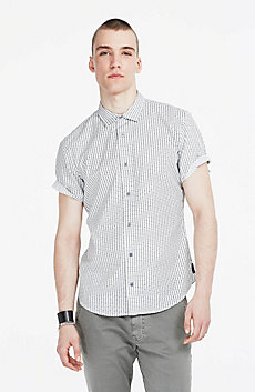 Grid Checked Shirt