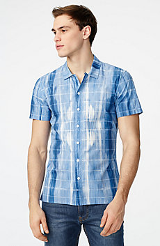 Watermark Short-Sleeve Shirt