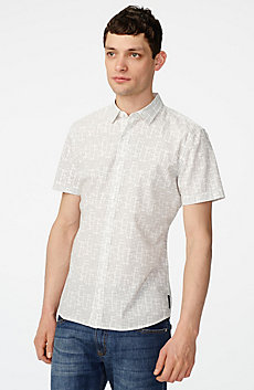 Short-Sleeve Negative Space Shirt
