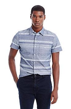 Short Sleeve Indigo Shirt