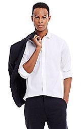 Textured Non Iron Cotton Shirt