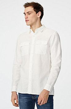 Linen Blend Workshirt