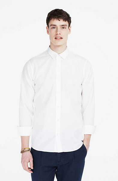Wrinkle-Free Textured Shirt
