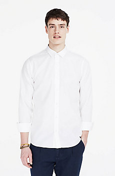 Textured Non-Iron Cotton Shirt