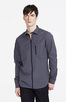 Wool Blend Utility Shirt