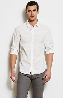 Burnout Stripe Shirt