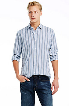 Alternating Stripe Shirt