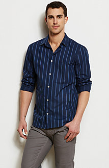 Signature Striped Shirt<br>Online Exclusive
