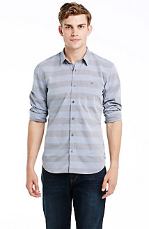 Wide Stripe Shirt