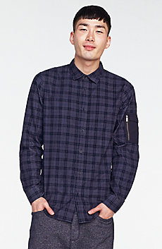 Corduroy Plaid Shirt