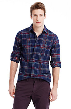 Festive Plaid Shirt