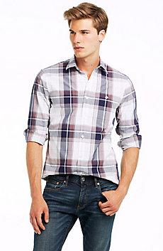Exaggerated Plaid Shirt