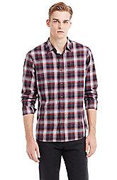 Heathered Plaid Shirt
