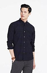 Jacquard Plaid Shirt