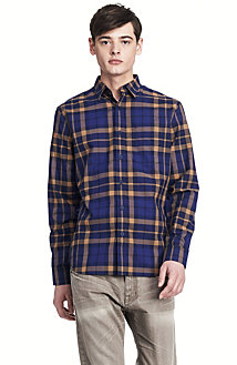 Poplin Plaid Shirt