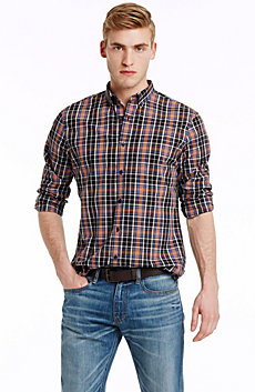 Sunset Plaid Shirt