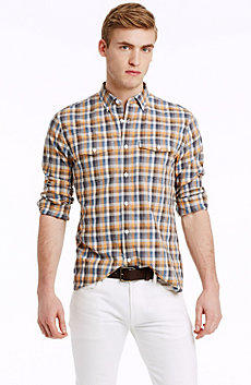 Summer Check Shirt