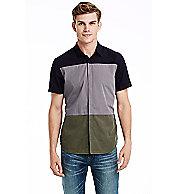 Short Sleeve Colorblock Shirt