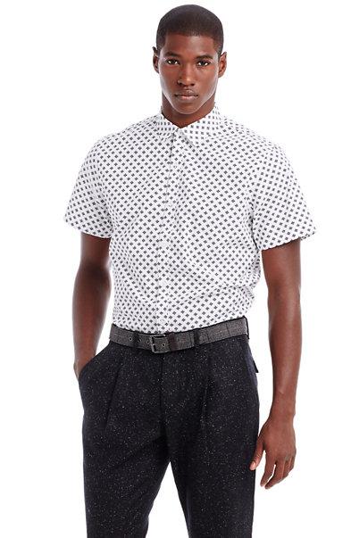 Short Sleeve Dot Shirt