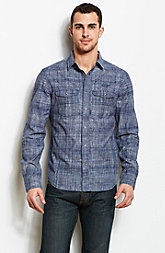 Crosshatch Chambray Shirt