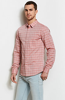 Siena Checked Plaid Shirt<br>Online Exclusive