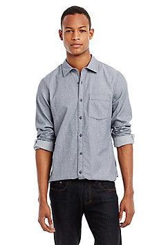 Textured Denim Shirt