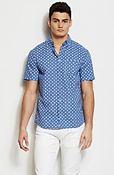 Short Sleeve Dotted Shirt
