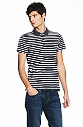 Mixed Stripe Polo