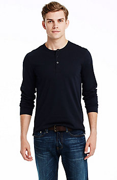 Pima Cotton Henley