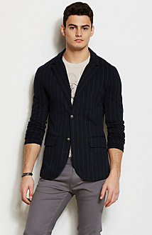 Striped Blazer<br>Online Exclusive