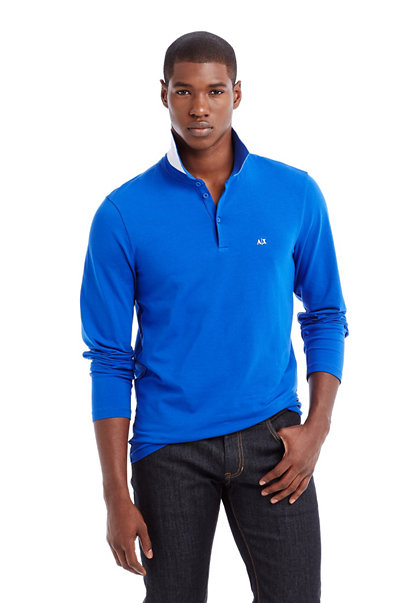 Signature Long Sleeve Polo