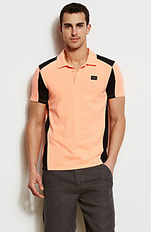 Colorblock Slub Polo