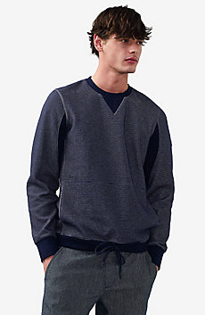 Drawcord Hem Sweatshirt