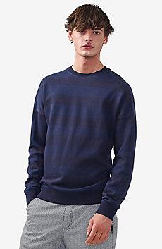 Tonal Stripe Sweatshirt
