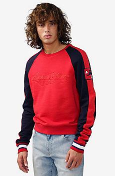 Sporty Logo Patch Sweatshirt