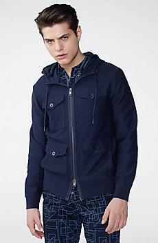 Full-Zip Utility Jacket