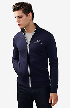 Signature Piping Mockneck Jacket