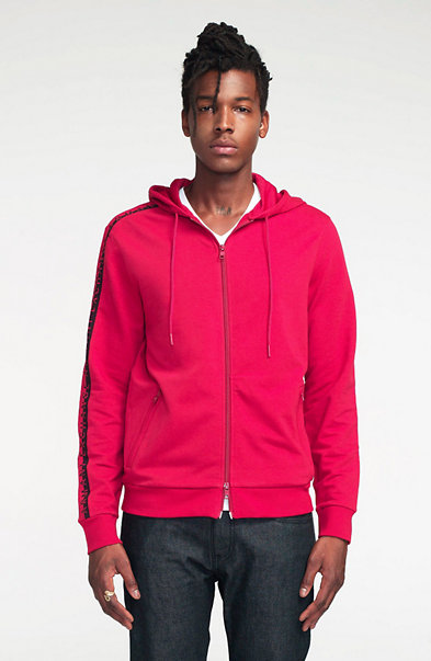 Two-Way Zip Hoodie